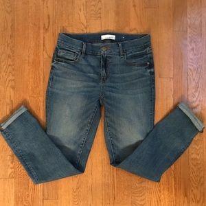 LOFT Skinny Crop Jeans size 27